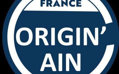 Label Origin'Ain !